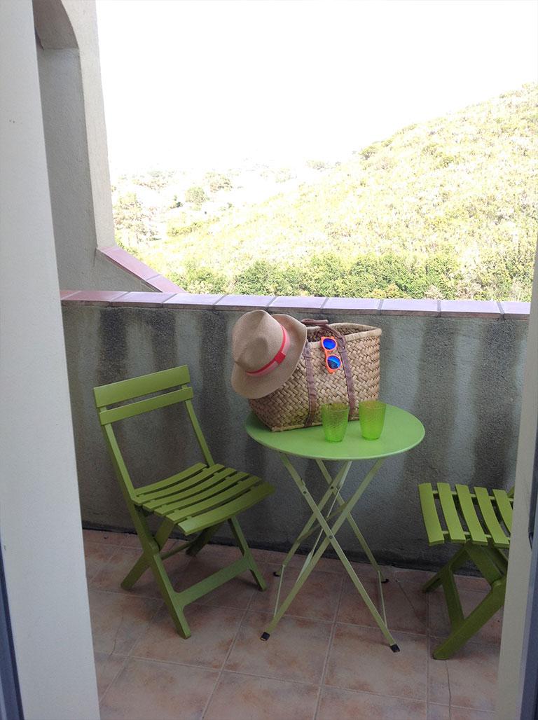 Balcon Résidence Le Panoramic Corse