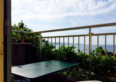 balcon Appartement 2 personnes